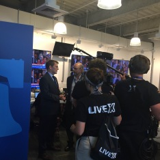 DNC: Google Studio Live (Production Manager/Field Producer/Social Content Producer)