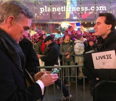 New Year's Eve in Times Square Official Webcast (Production Manager/Social Content Producer)