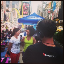 Times Square Yoga Solstice (Production Manager)