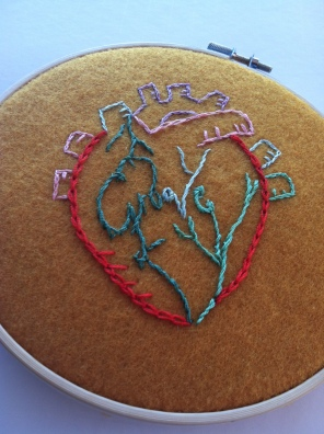Meta song lyrics embroidery