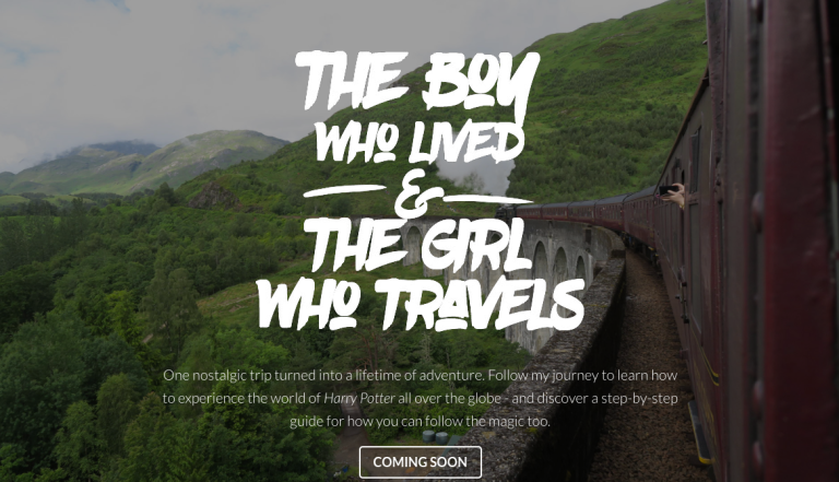 Harry Potter World Tour Home Page